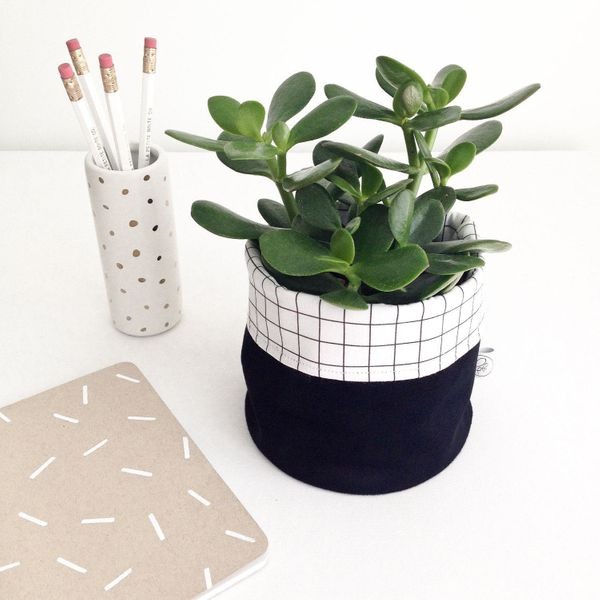 "These baskets are a perfect modern storage solution for plants, toys, toiletries, or school supplies. <a href=""https://www.et"