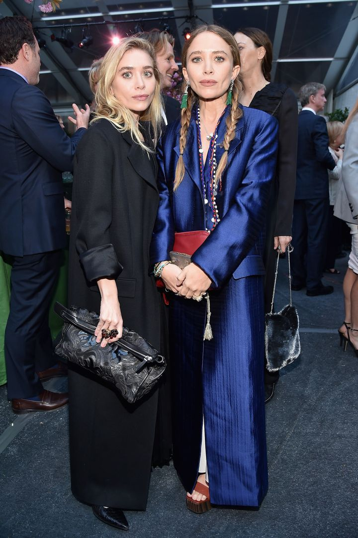 Ashley Olsen and Mary-Kate Olsen attend the Studio in a School 40th Anniversary Gala on May 3, in New York City.