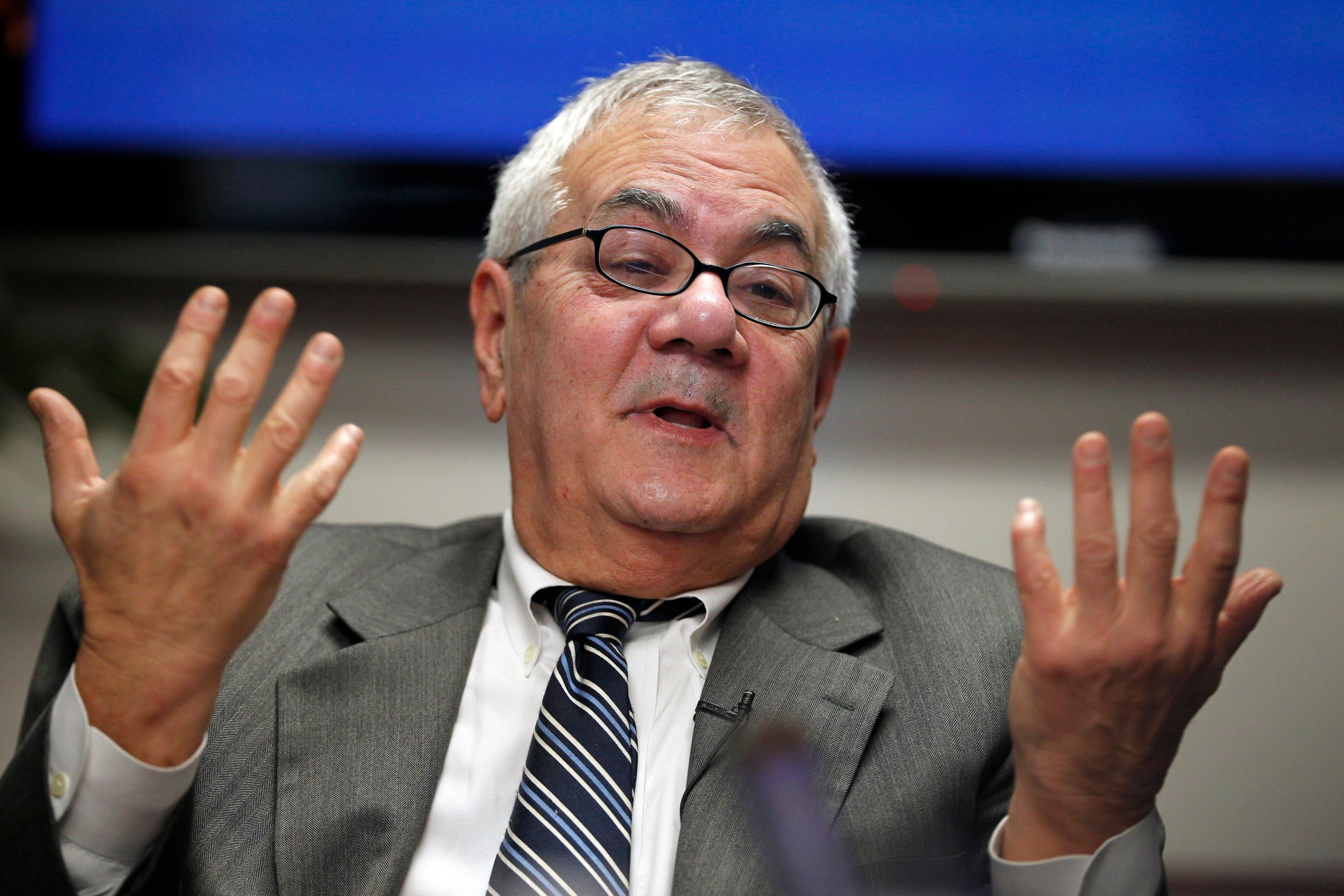 U.S. Representative Barney Frank (D-MA) speaks during the Reuters Future Face of Finance Summit in Washington, March 2, 2011. The summit brings together policymakers and financial leaders to give their views and news on who will come out on top, which countries are emerging as hostile environments to business, which firms may dodge the toughest reforms and which mergers will stick. REUTERS/Hyungwon Kang (UNITED STATES - Tags: BUSINESS POLITICS HEADSHOT)