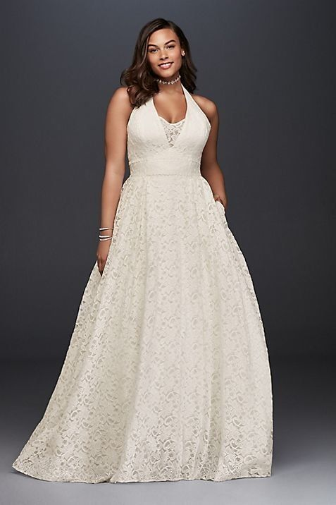 Wedding Dress with Sleeves and Pockets