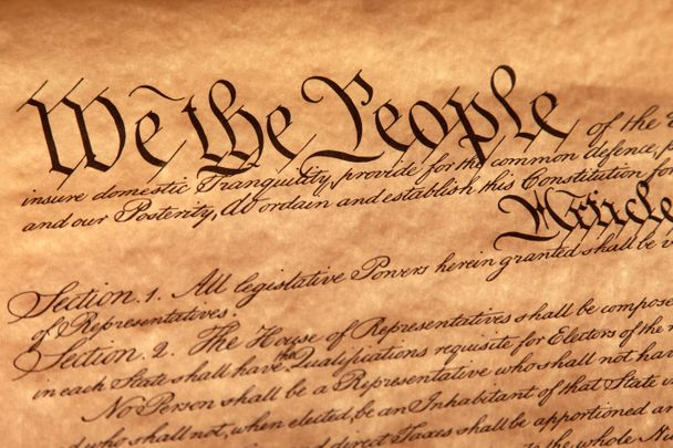 US Constitution first page