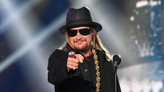 NASHVILLE, TN - JUNE 07:  Kid Rock presents an award onstage at the 2017 CMT Music Awards at the Music City Center on June 7, 2017 in Nashville, Tennessee.  (Photo by Jeff Kravitz/FilmMagic)