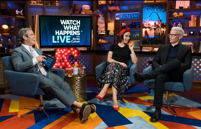 Andy Cohen, Olivia Wilde, Anderson Cooper