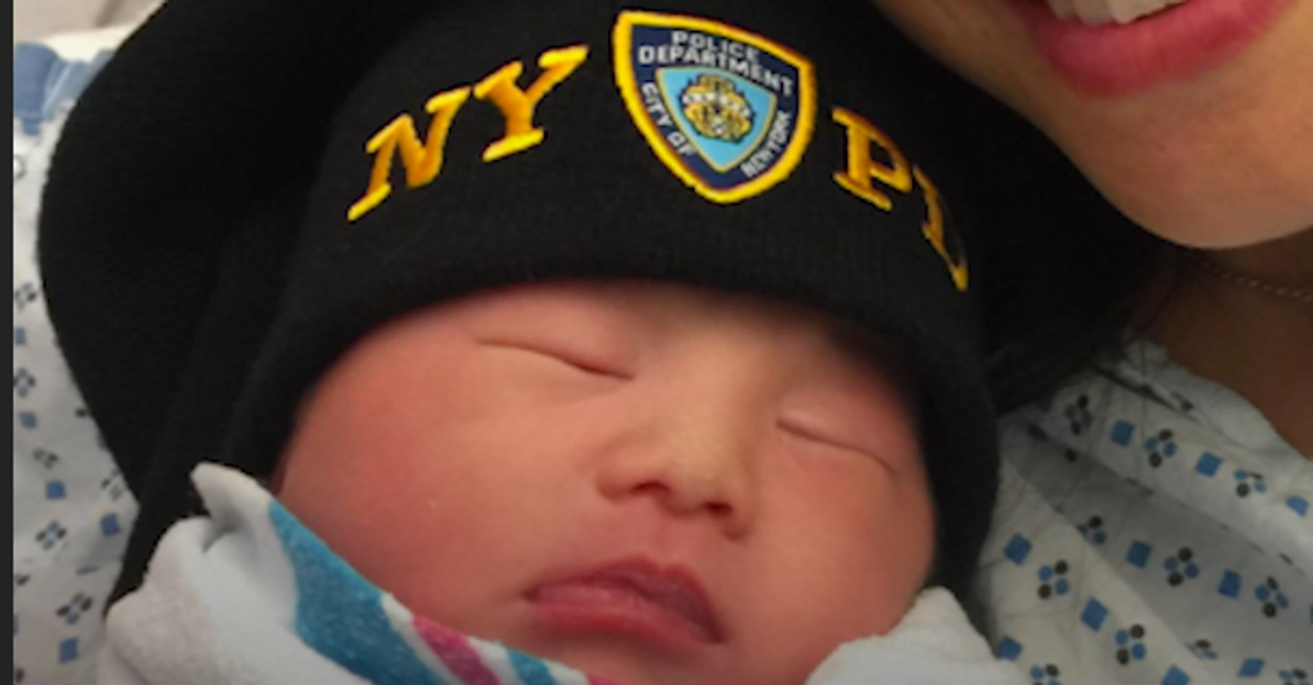 Cop Becomes A Father 2 Years After Death