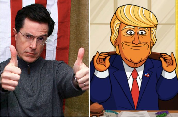 Stephen Colbert wasn't busy enough, so he decided to executive produce a cartoon show about President Donald Trump.