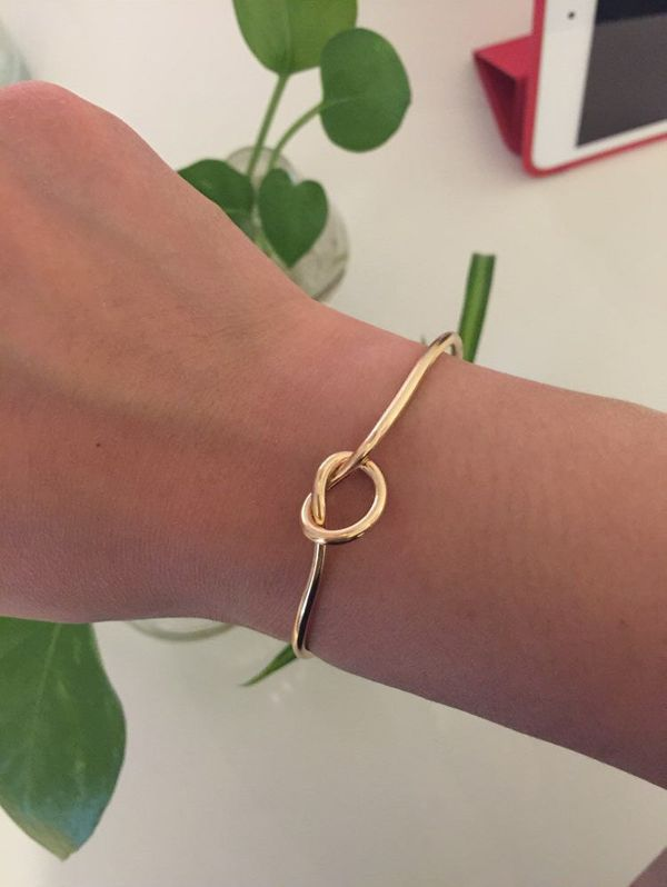 "<a href=""https://www.etsy.com/listing/279028624/gold-knot-tie-bangle-knot-bracelet?ga_order=most_relevant&ga_search_type="