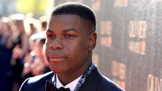 LONDON, ENGLAND - APRIL 09:  John Boyega attends The Olivier Awards 2017 at Royal Albert Hall on April 9, 2017 in London, England.  (Photo by Jeff Spicer/Getty Images)
