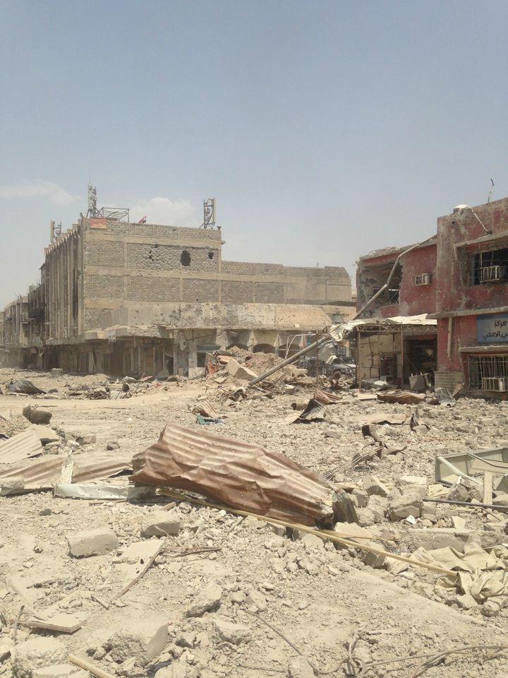 Western Mosul.