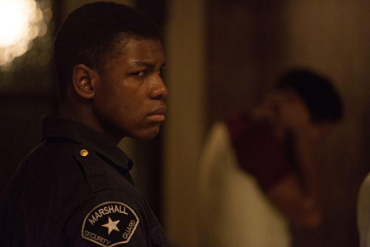 """John Boyega portraysMelvin Dismukes in """"Detroit."""""""