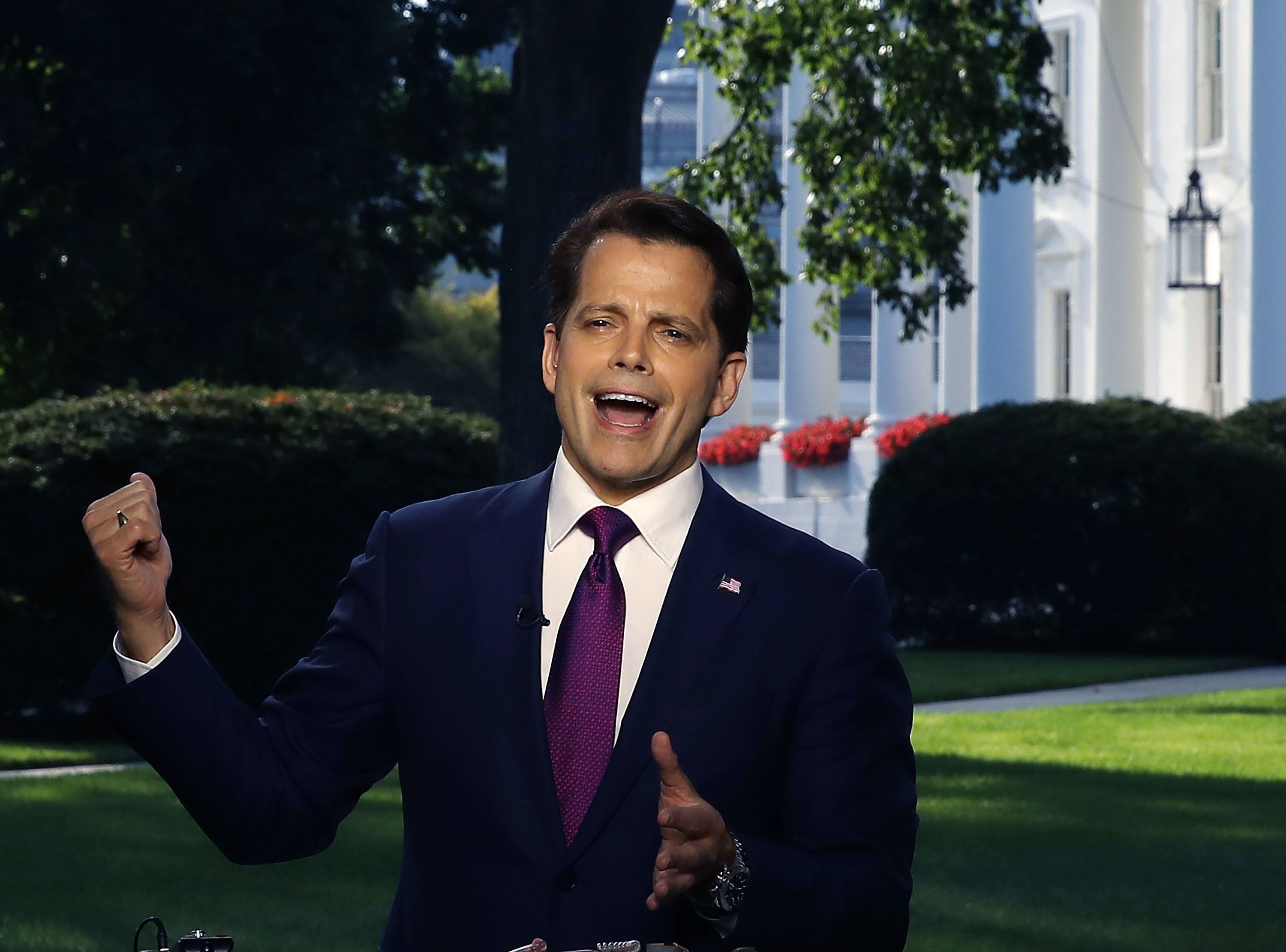 With Millions Set To Lose Health Care, Cable News Focuses On Scaramucci's Mouth