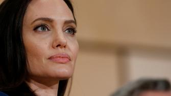 U.S. Actor and UNHCR Special Envoy Angelina Jolie attends a conference at the United Nations in Geneva, Switzerland, March 15, 2017. REUTERS/Denis Balibouse