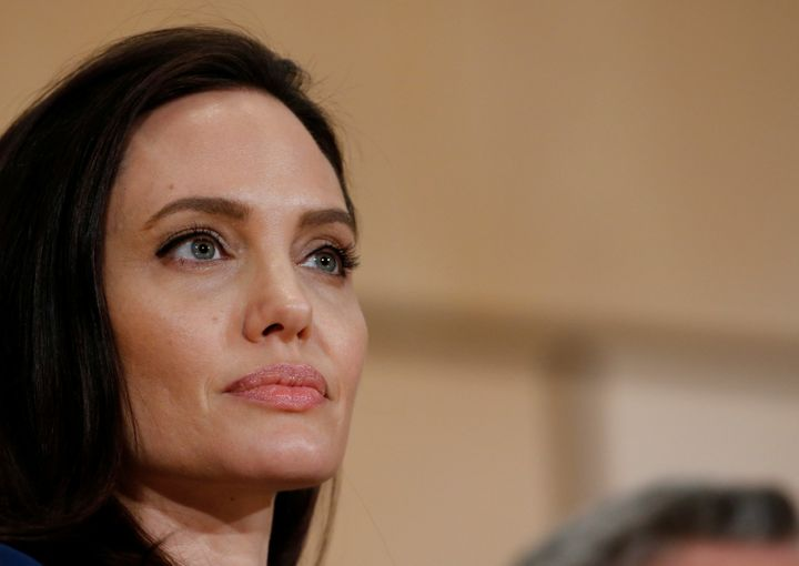 "Angelina Jolie tells Vanity Fair that there was an ""authentic connection to pain for everyone involved"" with"
