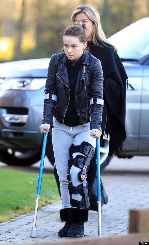 Ola had surgery on her knee after appearing on 'The