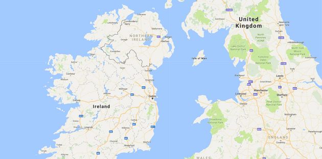 Reports said Ireland wants the Irish Sea to become its border with the UK