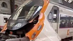Barcelona Train Crash: 54 Injured After Commuter Train Crashes Into