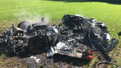 $400,000 Ferrari Destroyed Just An Hour After Owner Picked It