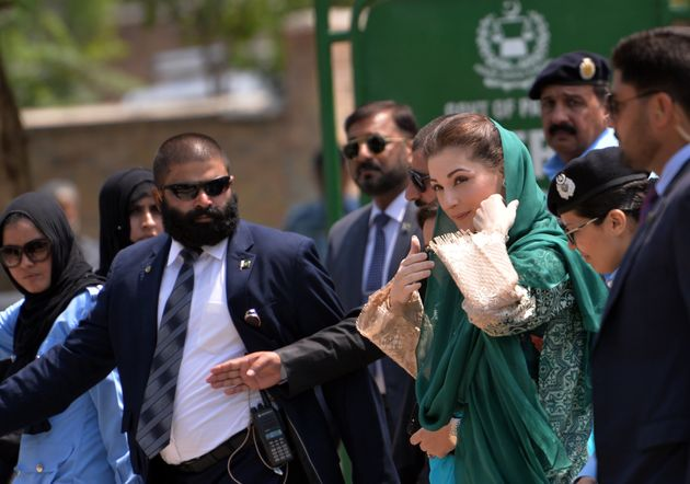 Nawaz Sharif's daughter Maryam Nawaz was named in the Panama