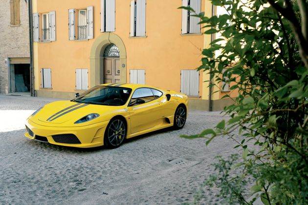 A non-totalled Ferrari 430