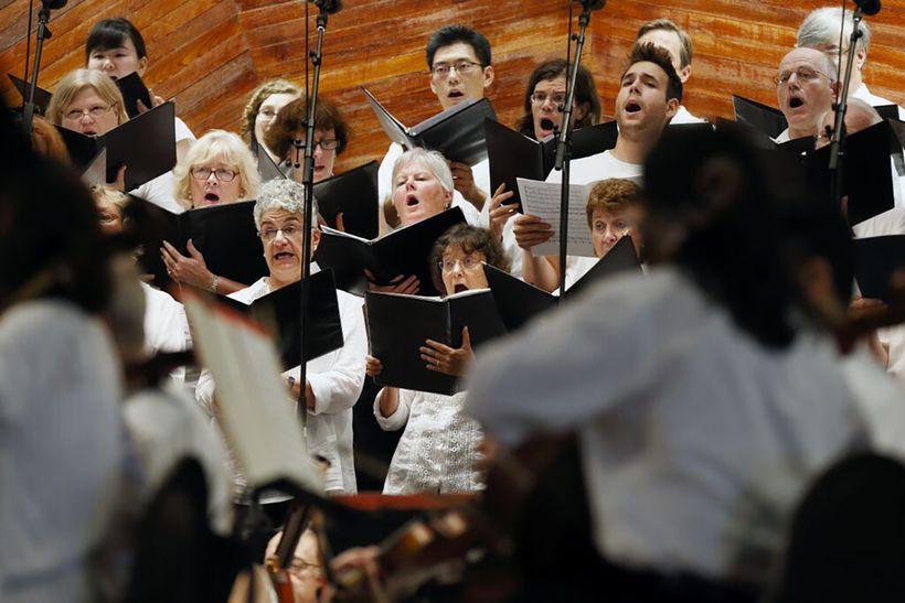 The One City Choir.