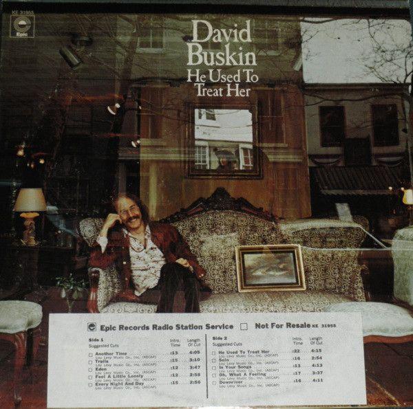 <p>David Buskin / <em>He Used To Treat Her</em></p>