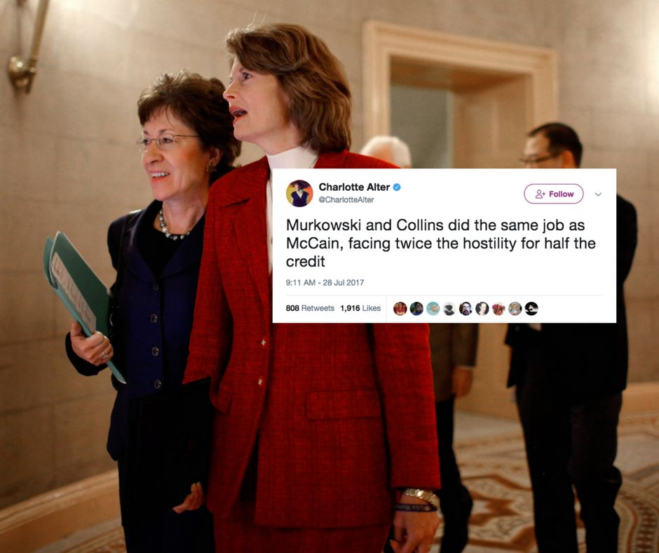 Image result for photos of collins murkowski