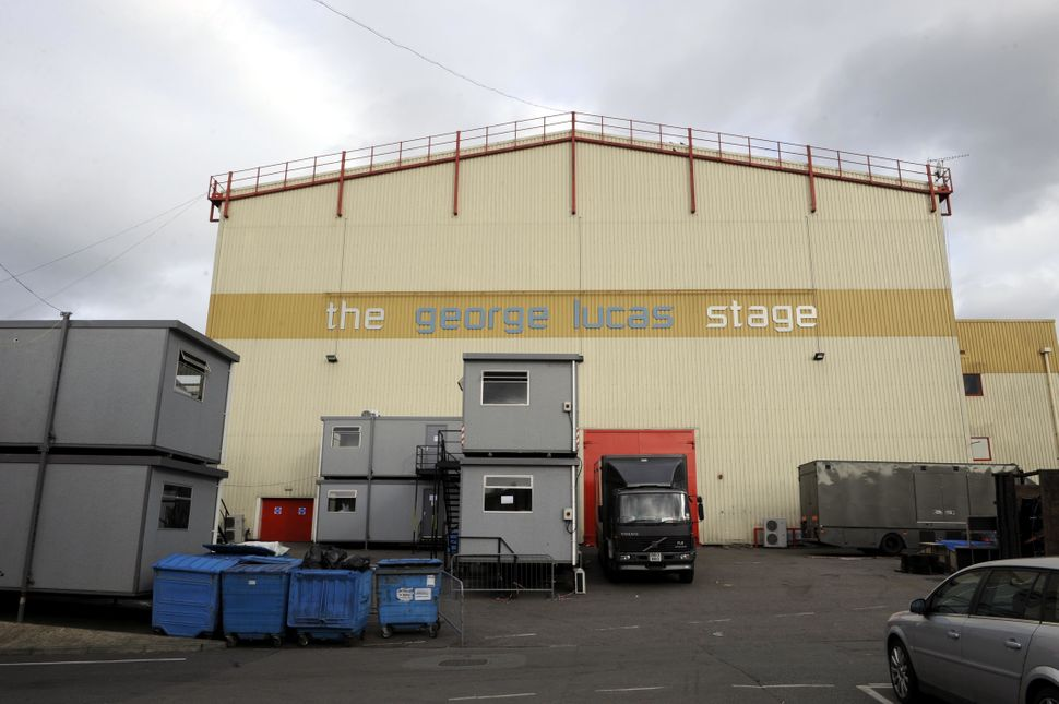 Strictly is filmed on The George Lucas Stage at Elstree Studios