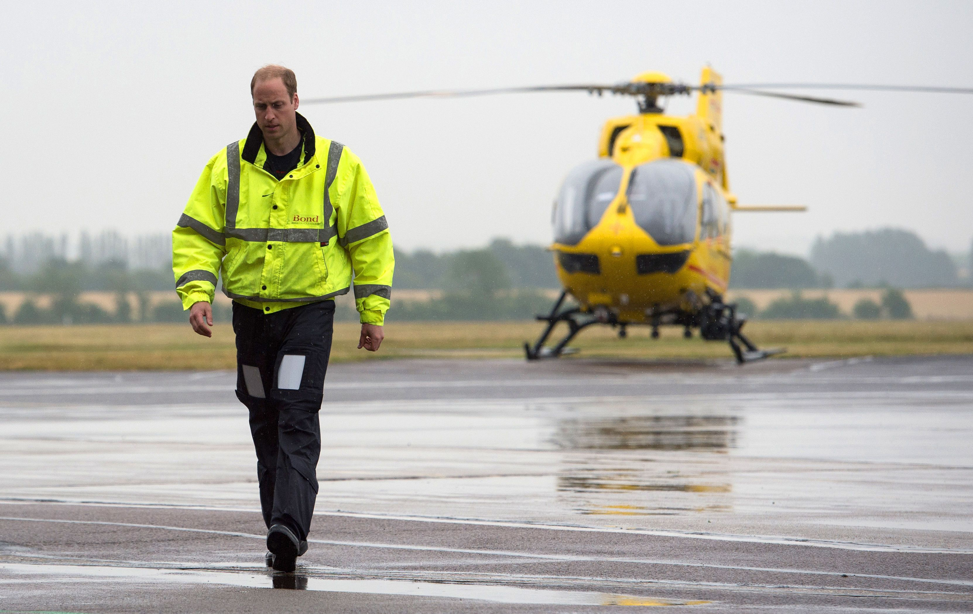 Prince William Talks About His 'Incredibly Tough' Days As An Air Ambulance