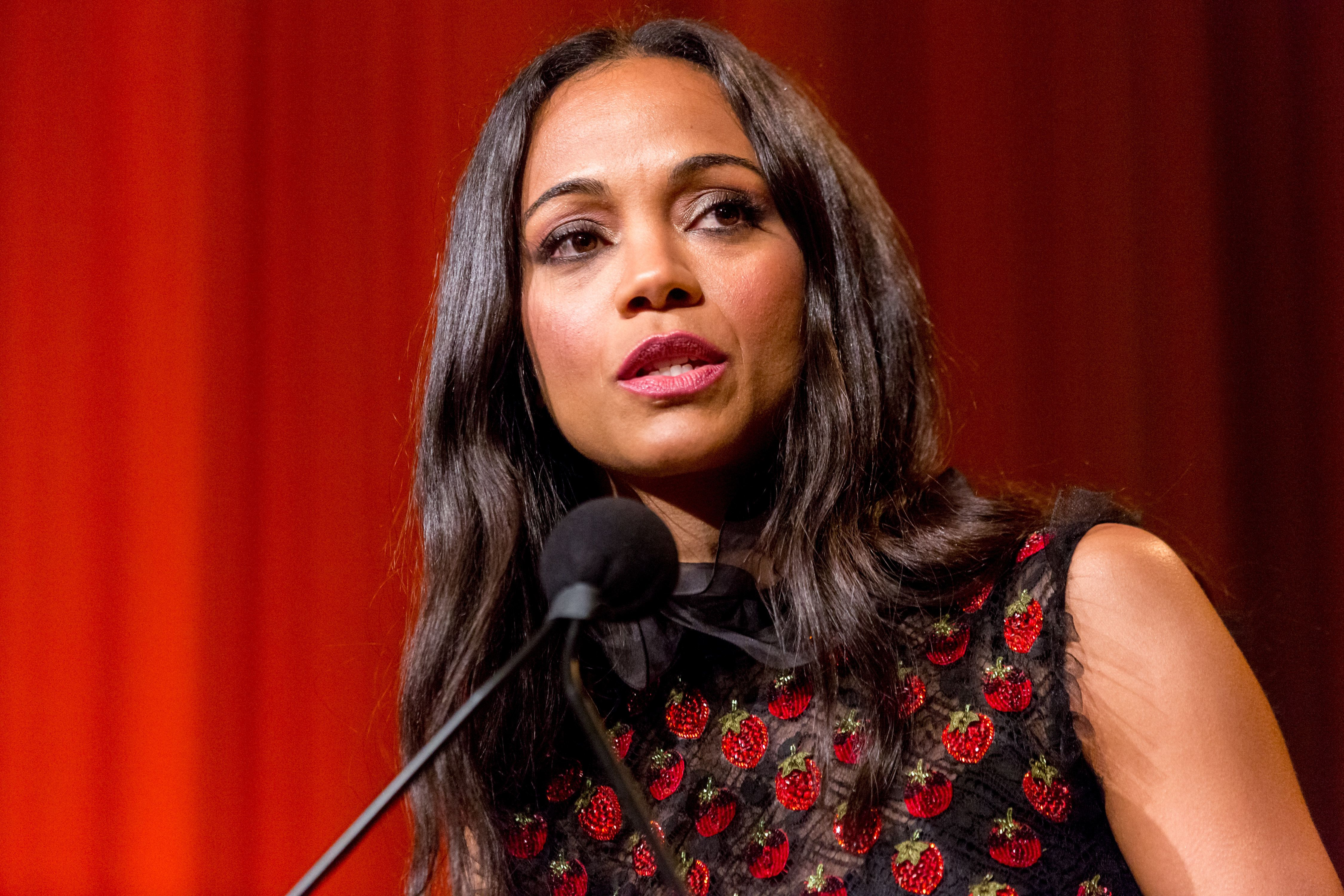 Zoe Saldana will be the founder and CEO of BeSe.