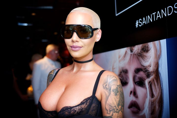 Amber Rose is in the hot seat this week.