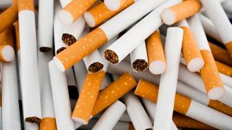 A lot of cigarettes.