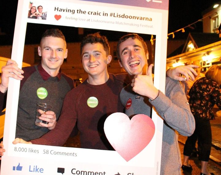 "The festival's <a href=""https://www.facebook.com/pg/LisdoonvarnaFestival/photos/?ref=page_internal"" target=""_blank"">social media photos</a> boast ""having the craic,"" <a href=""https://www.irishcentral.com/culture/craic/irish-craic-explained-the-top-six-levels-of-craic-you-can-reach"" target=""_blank"">which loosely means</a>&nbsp;""having fun."""