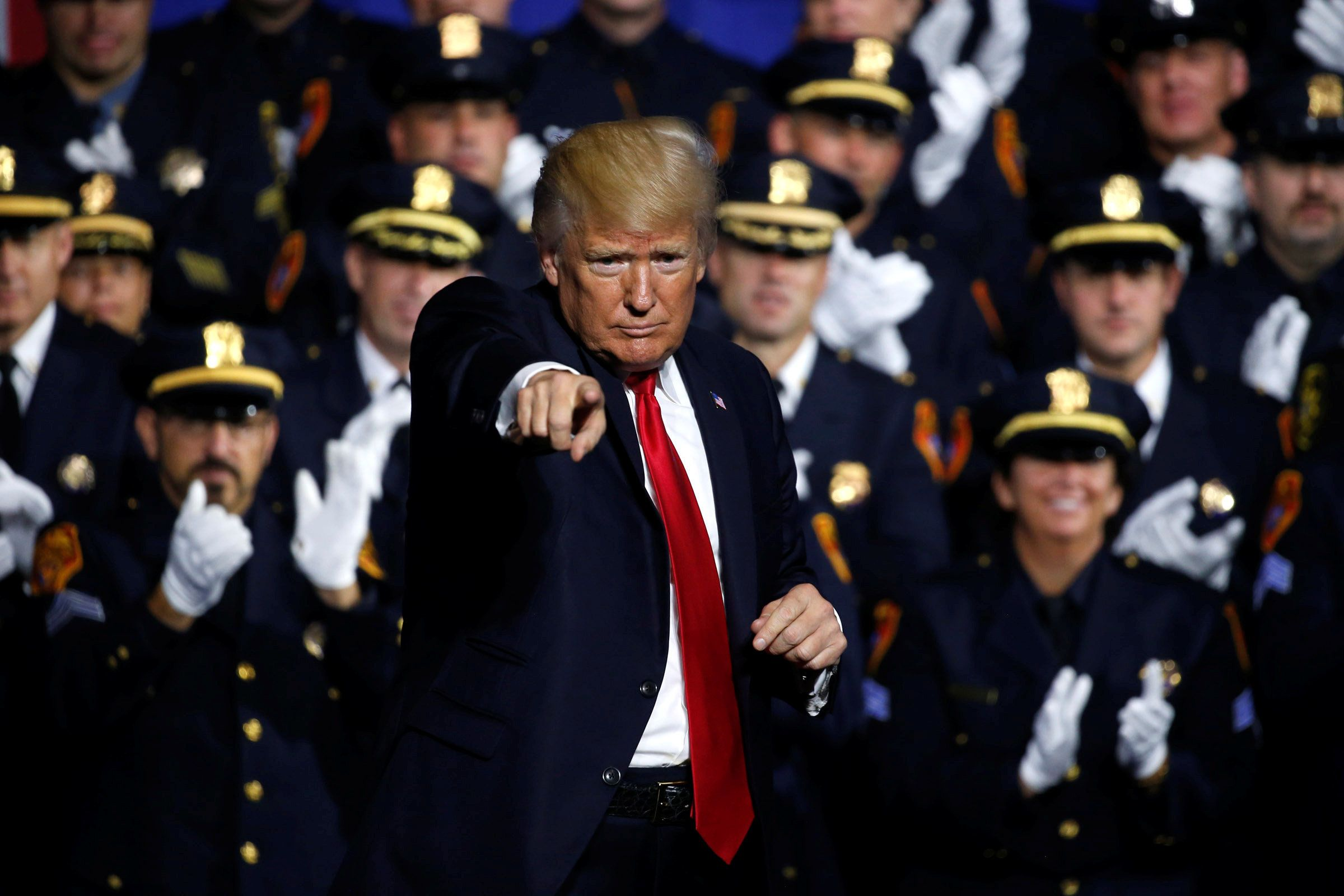 Trump To Police Officers: 'Don't Be Too Nice' When Making Arrests