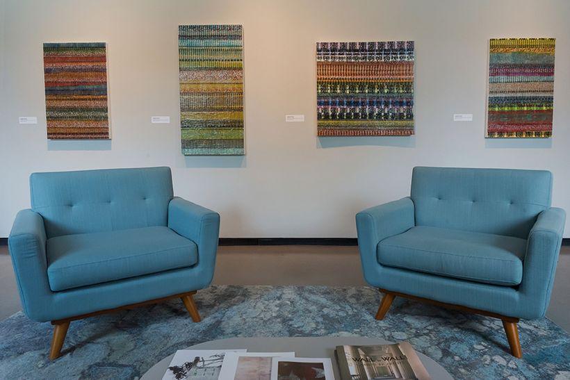 The Katonah Museum of Art's new gallery, photo courtesy of  Margaret Fox