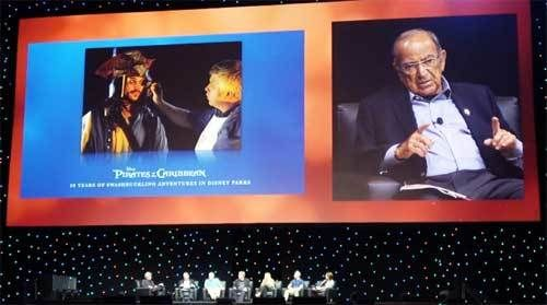 """Marty Sklar talks about the many changes that have been made to """"Pirates of the Caribbean"""" since this Disneyland attraction f"""