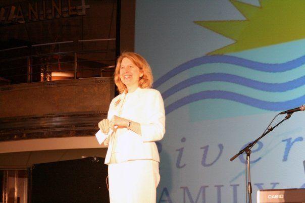 Pastor Nancy Butler, founder of Riverfront Family Church