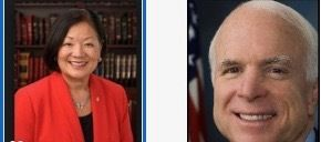 Two US Senators known to be under treatment for cancer voted against GOP health plan on July 28, 2017. Hawaii Senator Mazie H