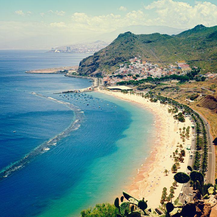 "<a href=""https://www.tripadvisor.com/Attraction_Review-g187482-d247432-Reviews-Playa_de_las_Teresitas-Santa_Cruz_de_Tenerife_Tenerife_Canary_Islands.html"" target=""_blank"">Playa de las Teresitas</a>, on the island's northern coast"