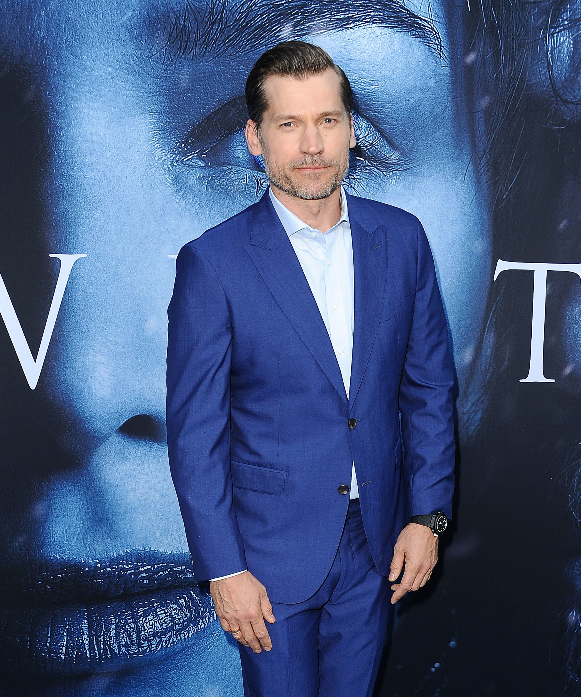 LOS ANGELES, CA - JULY 12:  Actor Nikolaj Coster-Waldau attends the season 7 premiere of 'Game Of Thrones' at Walt Disney Concert Hall on July 12, 2017 in Los Angeles, California.  (Photo by Jason LaVeris/FilmMagic)