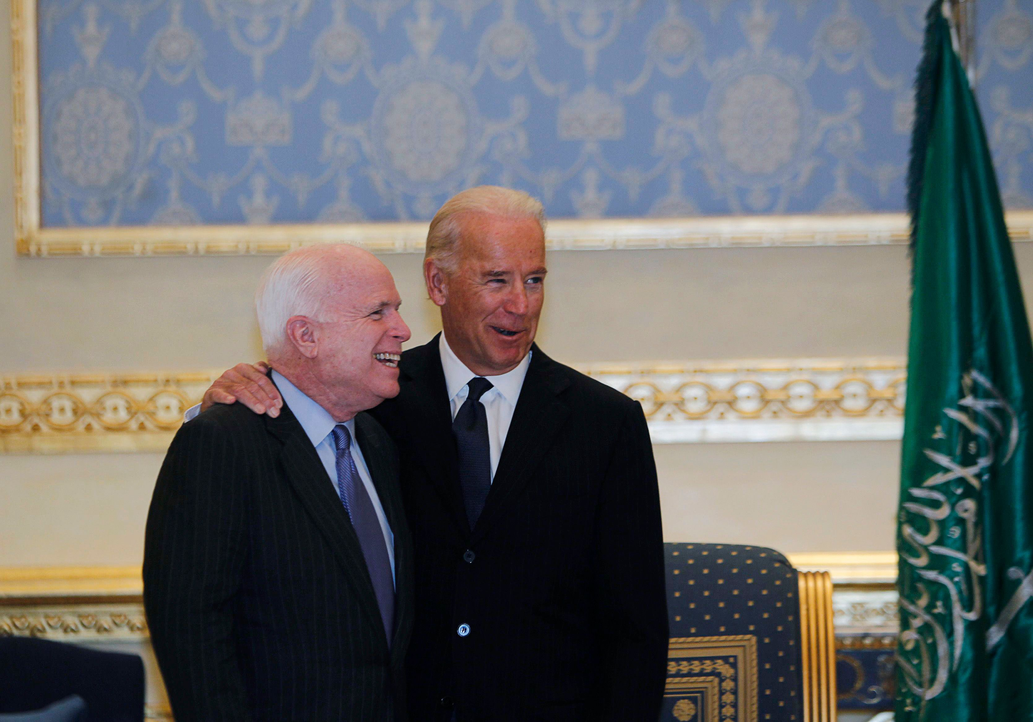 Joe Biden Reportedly Called John McCain Ahead Of Crucial Obamacare Repeal Vote