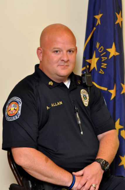 Lt. Aaron Allan was with the Southport Police Department for six years and had more than 20 years of law enforcement experien