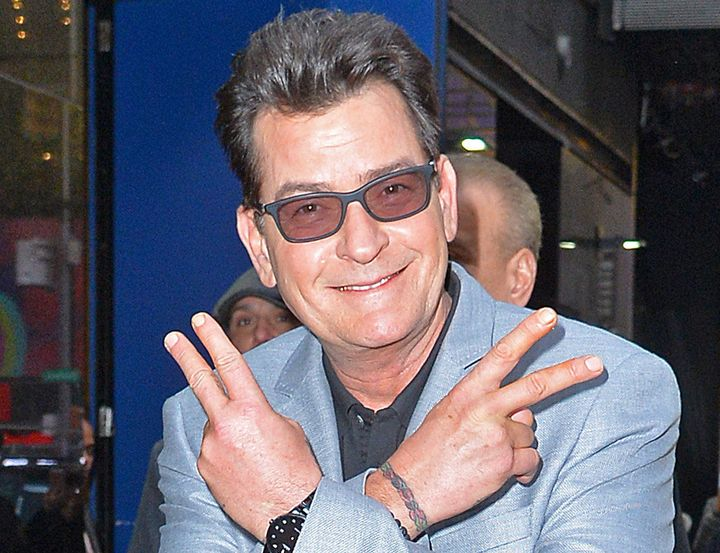 Charlie sheen thinks the moon is hollow according to rob lowe josiah kamau via getty images thecheapjerseys Image collections
