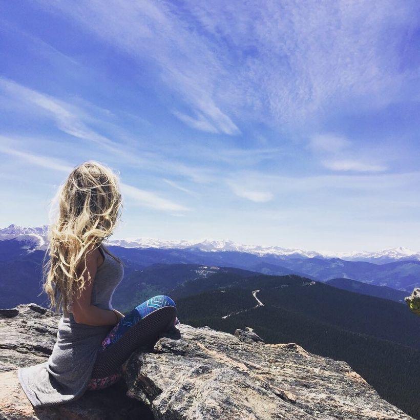 Meditation in Colorado