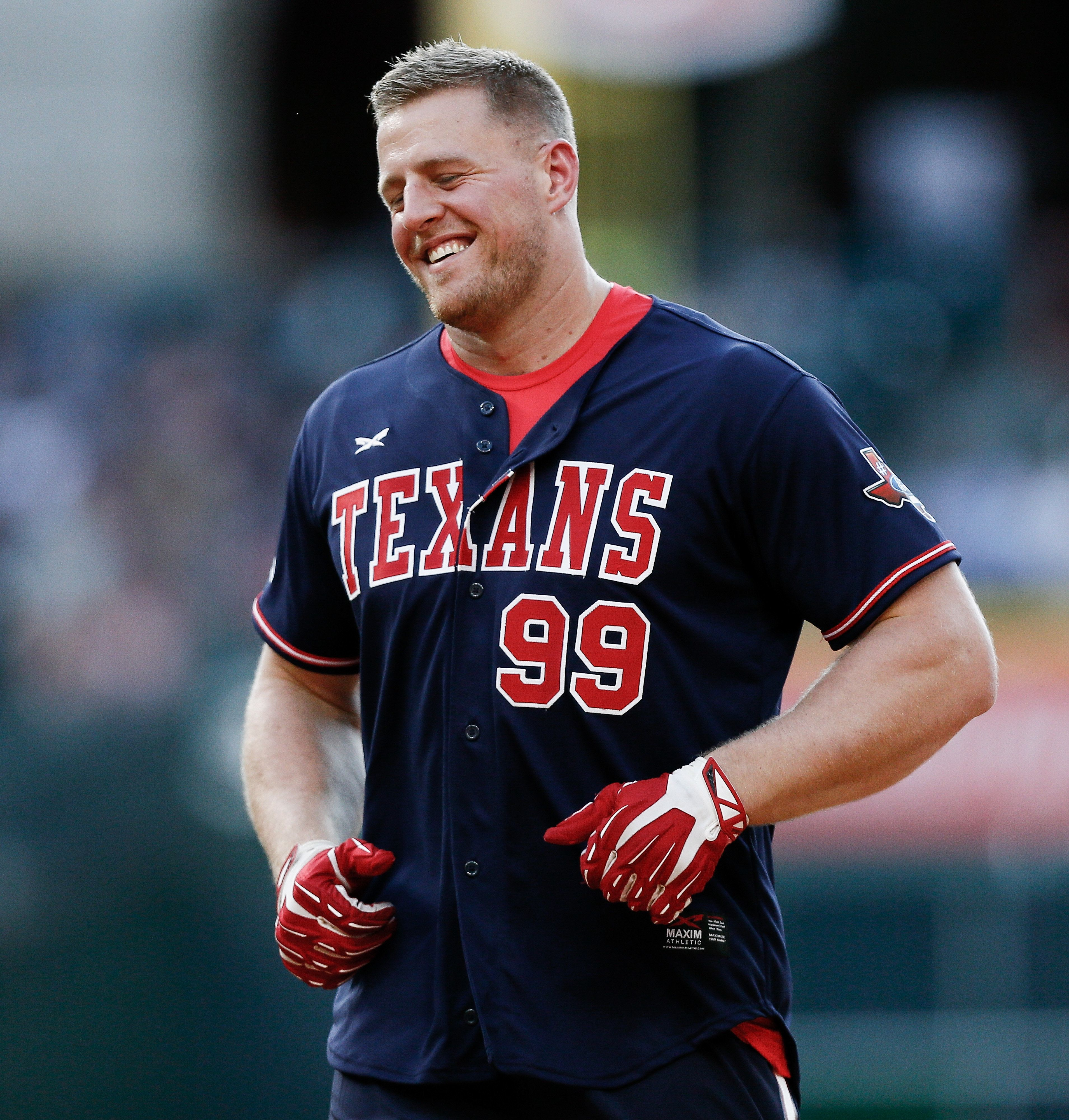 jj watt haircut texans teammates argue about existence of dinosaurs 1792