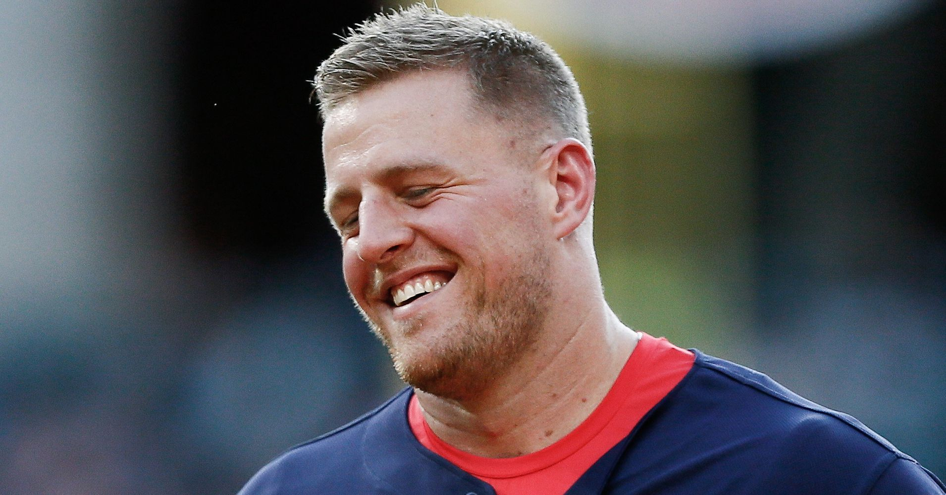 jj watt haircut texans teammates argue about existence of dinosaurs 1792 | 597cf4c31a00009bc1dc1204