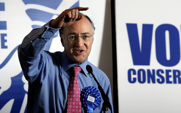 Conservative leader Michael Howard during the 2005 General Election