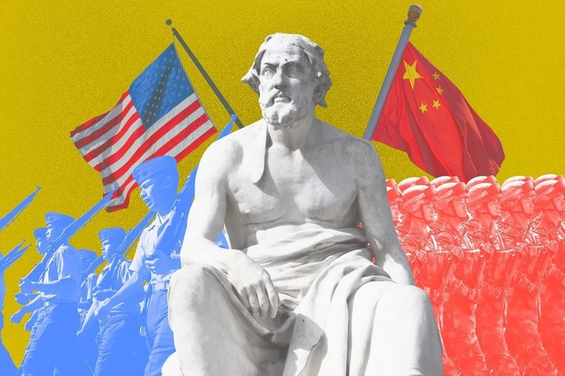 China and the U.S. may be heading towards a war that neither wants.