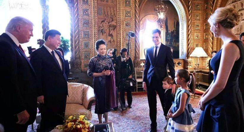 Arabella Kushner performs for Xi Jinping and Peng Liyuan, China's first couple.