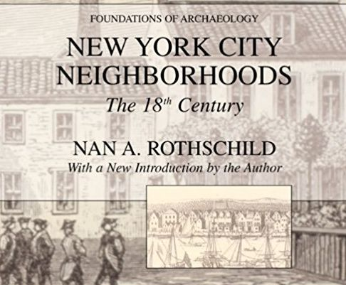 <em>Professor Rothschild has conducted extensive research into the lower Manhattan neighborhoods that comprised New Amsterda