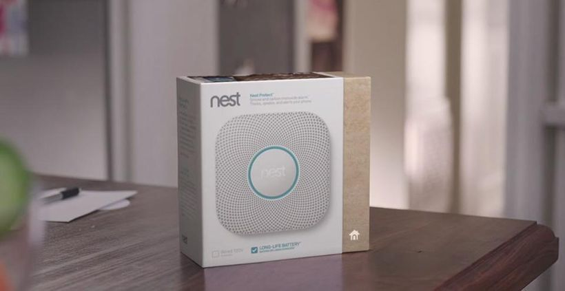 Nest Protect has an industrial-grade smoke sensor, tests itself and lasts up to a decade.