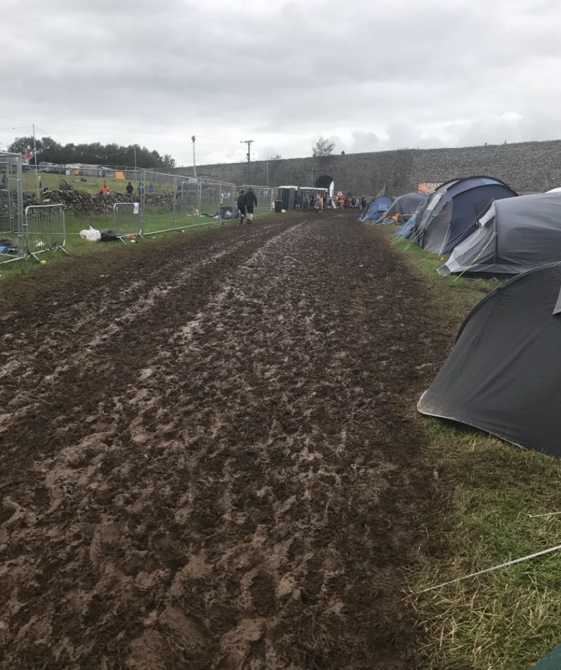 It's Finally Happened, A Music Festival Got So Muddy It Had To Be